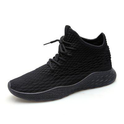 Male Outdoor Fashion High-top Casual Shoes