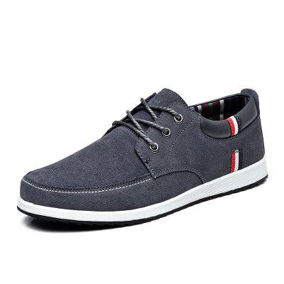 Surom Male Lace-up Flat Shoes