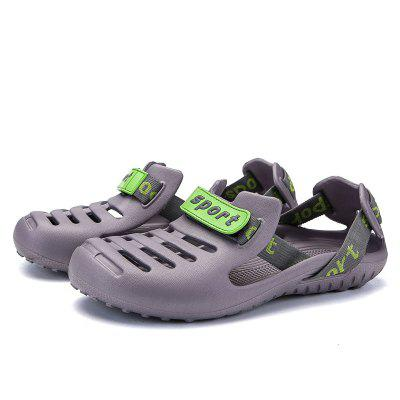 Male Chic Plastic Sandals for Beach