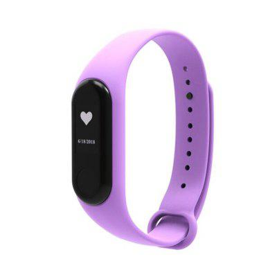 Silicone Replacement Wrist Strap for Xiaomi Mi Band 3 Smart Bracelet