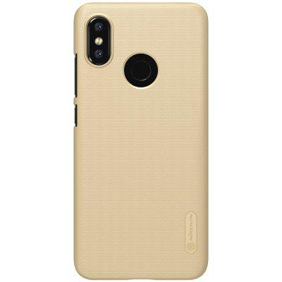 NILLKIN Anti-skid Frosted Shield Case for Xiaomi Mi 8 colorblock cable knit sweater