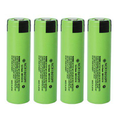 NCR18650PF batterie lithium-ion rechargeable 4PCS