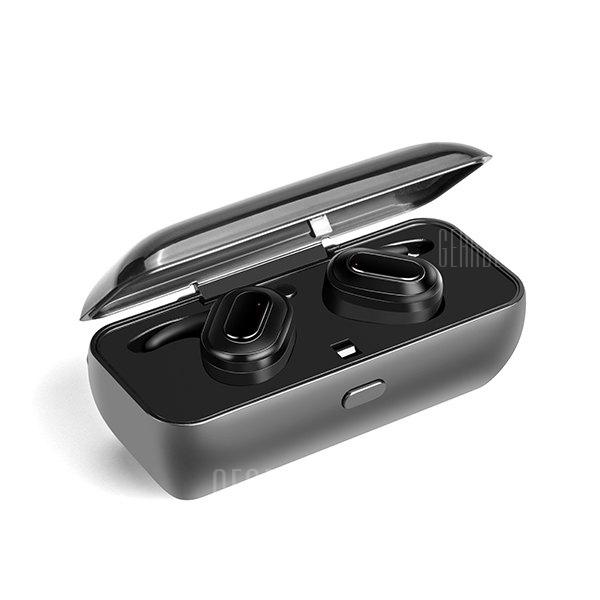 CIRCE X26 TWS Bluetooth Earphone True Wireless Earbuds - BLACK