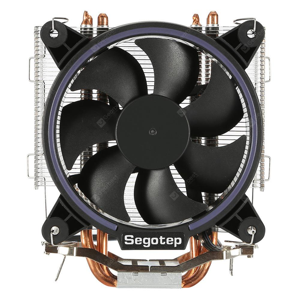 Segotep Frozen Tower T5 CPU Cooling Fan 125W - SILVER