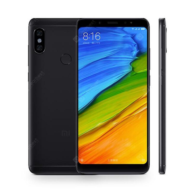 Xiaomi Redmi Note 5 4G Phablet 3GB RAM 32GB ROM Global Version  - noir