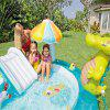 Inflatable Children Play Center Pool - BLUE ZIRCON