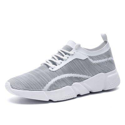 SUROM Men Trendy Breathable Sports Casual Shoes