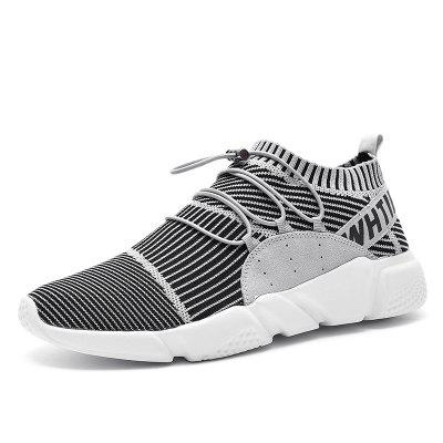 SUROM Men Breathable Lightweight Sports Shoes