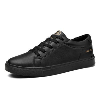 Surom Male Durable Chaussures plates à lacets
