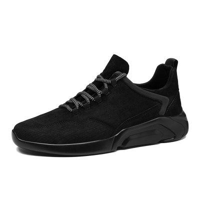 SUROM Men Trendy Breathable Sports Shoes