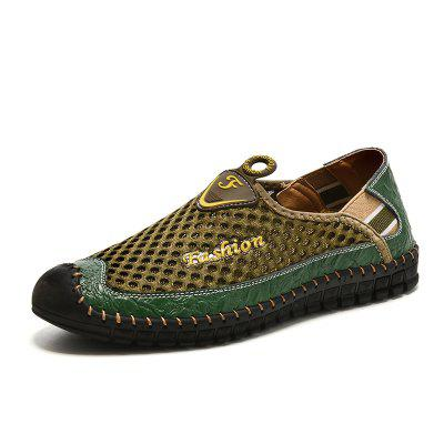 SUROM Men Trendy Breathable Casual Shoes
