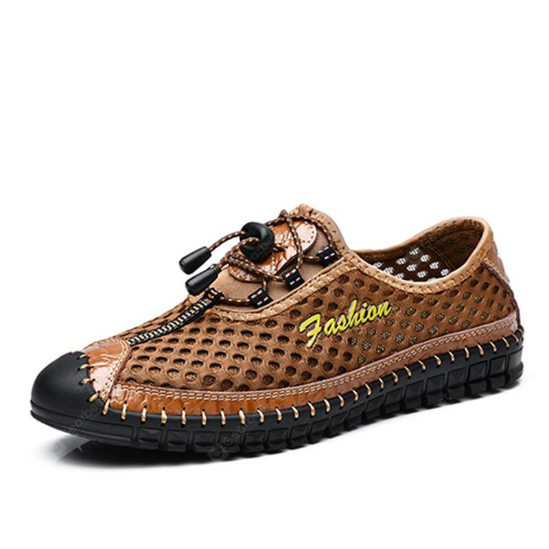 SUROM Men Fashion Breathable Casual Shoes