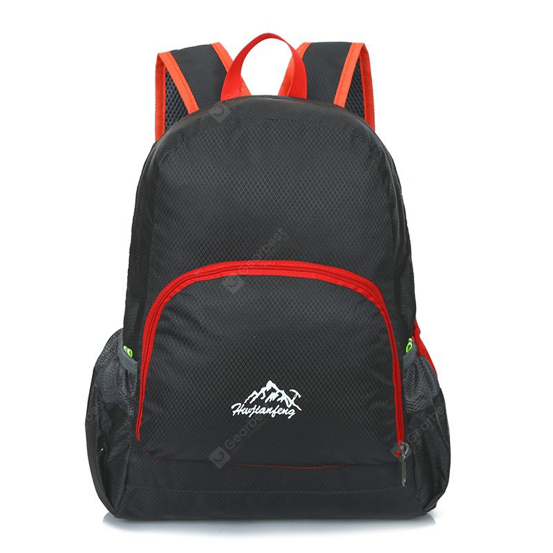 Gearbest  Outdoor Trendy Durable Backpack - BLACK