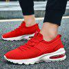 Men Stylish Shock-absorbing Anti-slip Sports Shoes - VERMELHO