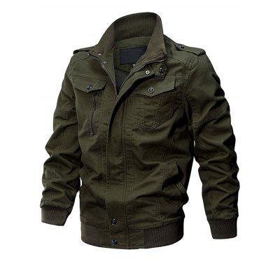 HYD1572 Cotton Fashion Detachable Cap Jacket for Man