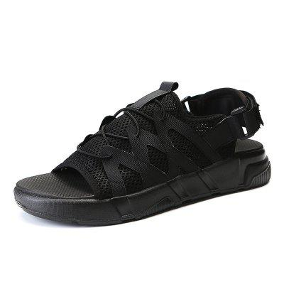Male Breathable Mesh Sandals for Beach