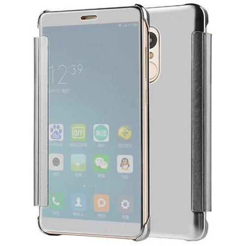 newest f0f1f 1d711 Luxury Clear View Mirror Flip Smart Case Cover For Redmi Note 4 / Note 4X