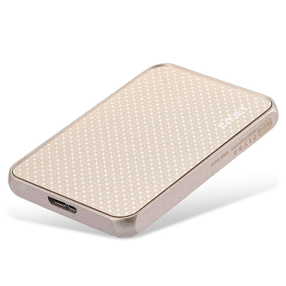 EAGET MS608 Solid State Drive SSD USB3.0 512GB - GOLD