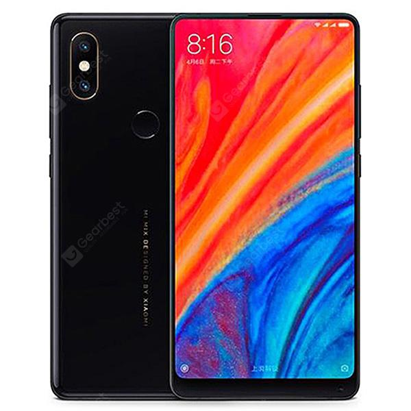Gearbest Xiaomi MI MIX 2S 4G Phablet 6GB RAM Global Version - BLACK