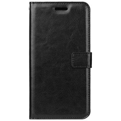 PU Leather for Oneplus 6 Crazy Horse Skin Flip Wallet Cover Case