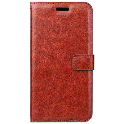 PU Leather for Xiaomi Redemi 5 Plus Crazy Horse Skin Flip Wallet Cover Case