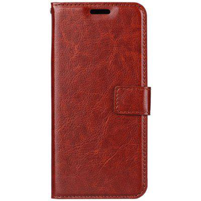 PU Leather for Xiaomi Redemi Note 5 Pro Crazy Horse Skin Flip Wallet Cover Case