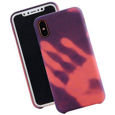 Thermoinduction Allochroic Protective Case for iPhone X