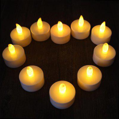 10PCS Romantic Wedding Decor Flameless LED Candle Light