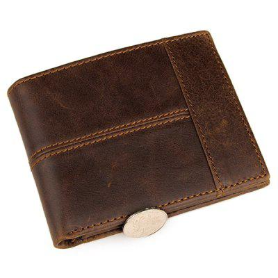 COWATHER Stylish Business Leather Bifold Wallet