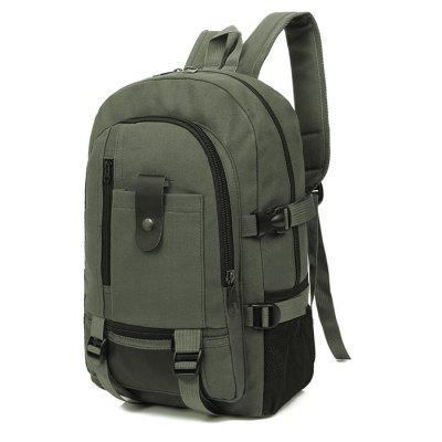 Image result for Men Trendy Outdoor Large Capacity Canvas Backpack gearbest