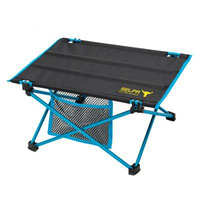 Camping Mini Folding Dining Table of Aluminum Alloy