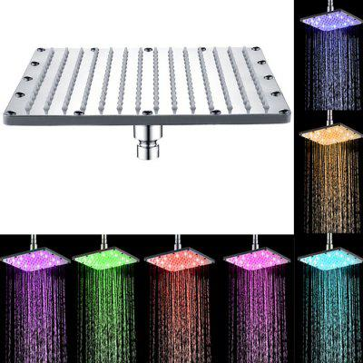 Фото SDH - F5 10 inch LED 7-color Changing Shower Head new 7 inch