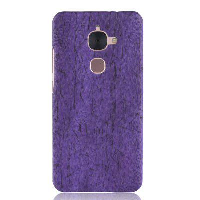 Luanke PC Wood Texture PU Leather Paste Case for Letv LeEco Le S3 X626