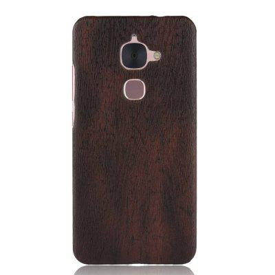 Luanke PC Wood Texture PU Leather Paste Case for Letv LeEco Le 2