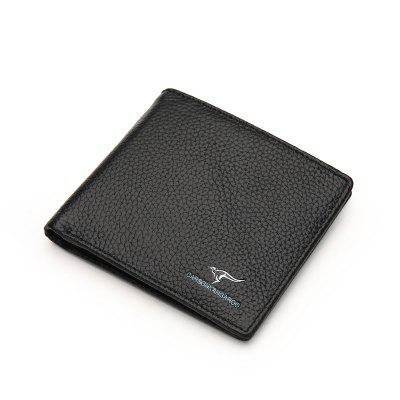 Trendy Compact Men Leather Wallet