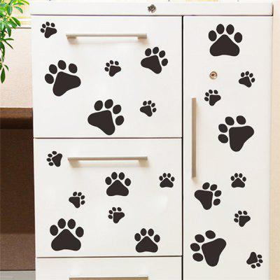 Cat Claw Dog Paw PVC Sticker for Home