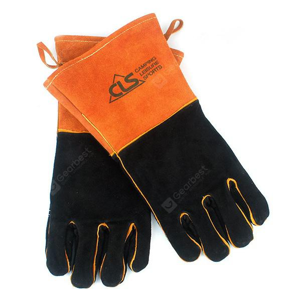 Pair of Camping Adiabatic Thickened Protective Gloves