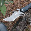 CIMA G498 Straight Fixed Blade Knife - CZARNY