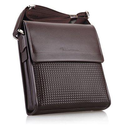 Men Leather Business Shoulder Bag