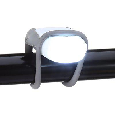 Water-resistant Silicone Bicycle Front Light Safety LED Lamp