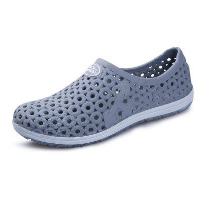 Male Hollow-out Slip-on Casual Shoes male comfortable slip on casual shoes