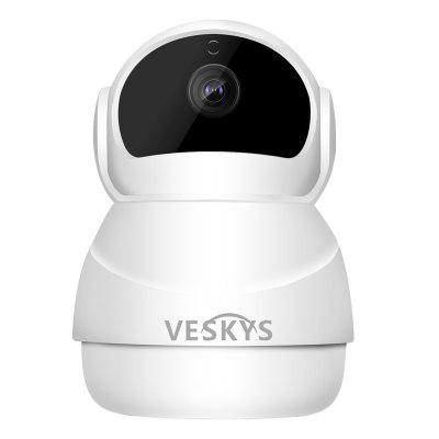 VESKYS N9 WiFi 1080P IP Camera 2.0MP PTZ Security Camera misecu new 4ch 8ch mini nvr full hd real p2p standalone cctv nvr 1920 1080p onvif for 1080p 960p 720p ip camera security system
