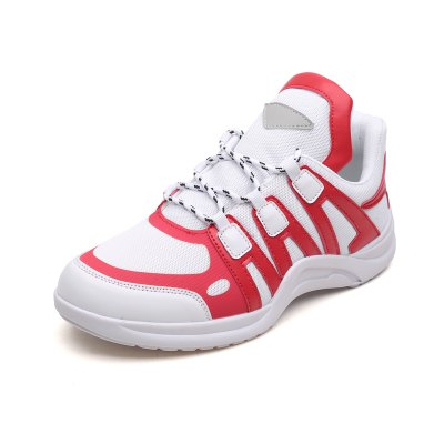 Men Fashionable Lace-up Shoes with Mesh Fabric