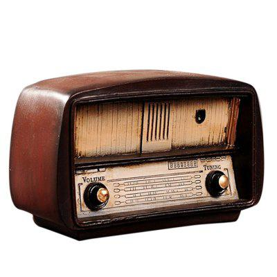 Criativo Retro Radio Table Decoration Art Craft
