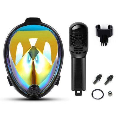 Anti-fog Full Face Diving Mask Small Size
