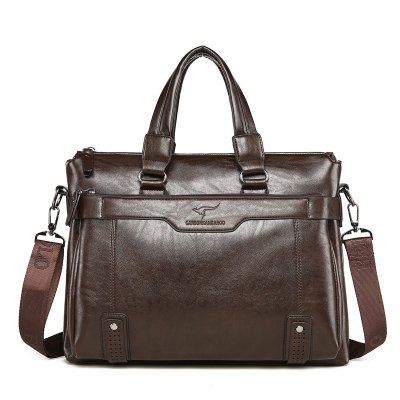 PU Men Shoulder Bag