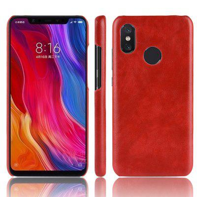 Retro Lichee Pattern Phone Case for Xiaomi Mi 8