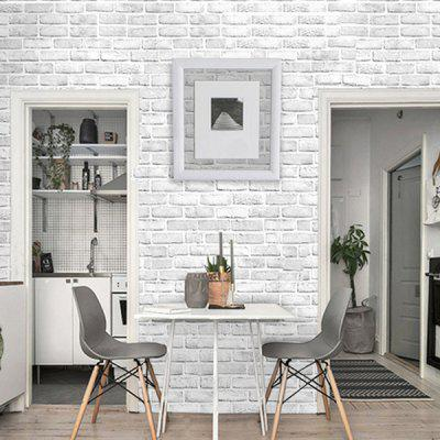 Home Decor 3D Brick Texture Wall Sticker