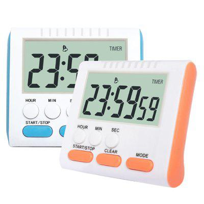 Multifunctional English Large Screen Digital Kitchen Timer