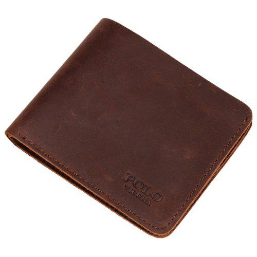 VICUNAPOLO V107 Leather Lightweight Men Wallet